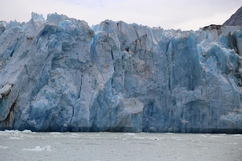 Dawes Glacier. 400 feet high.