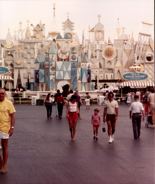 I don't think I know the people; just a shot of Small World