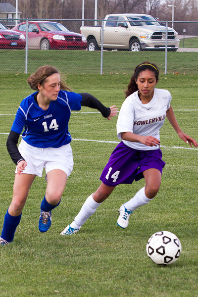 Fowlerville v Ionia Soccer 2013