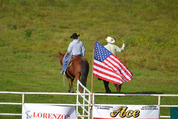 2nd Section Cowgirls Barrel Racing