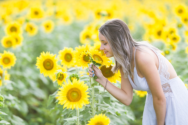 J. Long in the Flowers
