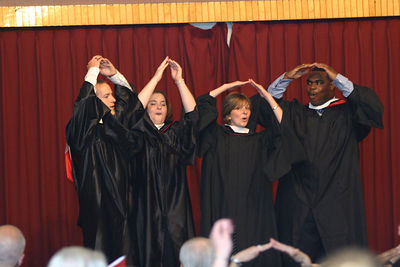 2005 GAs Hooding Ceremony