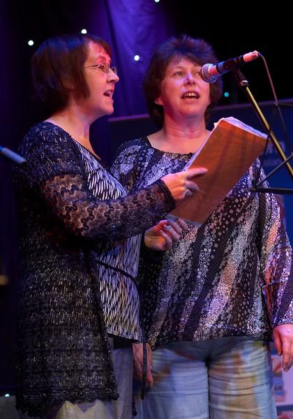 Annie Kissack and Clare Kilgallon