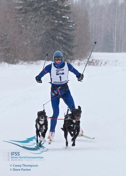 IFSS Men's 2-dog skijor