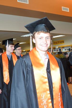 Brendan Graduation