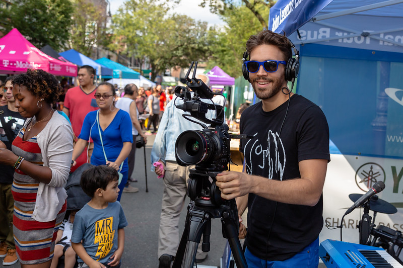 2018_09_15, Josh Greene, New York, NY, Tents, Viva La Comida