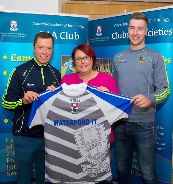 WIT holds event to honour 2016 All Ireland medal winning students. Pictured with the  President of the Camogie Association Catherine Neary are Conor O'Brien and Tomas Hamill of the Tipperary Senior Hurling Team. Picture: Patrick Browne  Waterford Institute of Technology's presence and influence across Gaelic Games at a national level in 2016 has been very noticeable. In total there are 32 past and present WIT students on the respective playing panels that won All Ireland medals in 2016 and a further 4 members on the backroom management teams.   To honour this huge achievement, WIT GAA Club is paying tribute to these 36 past members on securing these prestigious national titles on Monday 3 October, 6.30pm at the WIT Arena.   Along with the players, the prestigious cups, including the All Ireland Senior Hurling Cup- Liam McCarthy, the All Ireland Senior Camogie Cup- O'Duffy, The All Ireland Minor Cup and the All Ireland Under 21 Hurling Cup- James Nowlan, will be on show on the night.