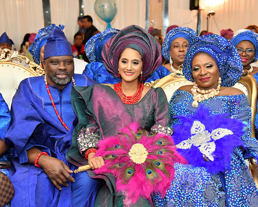Merine & Charles Olatunji Traditional Wedding