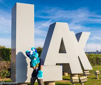 LAX Plane Spotting 03-18-2017