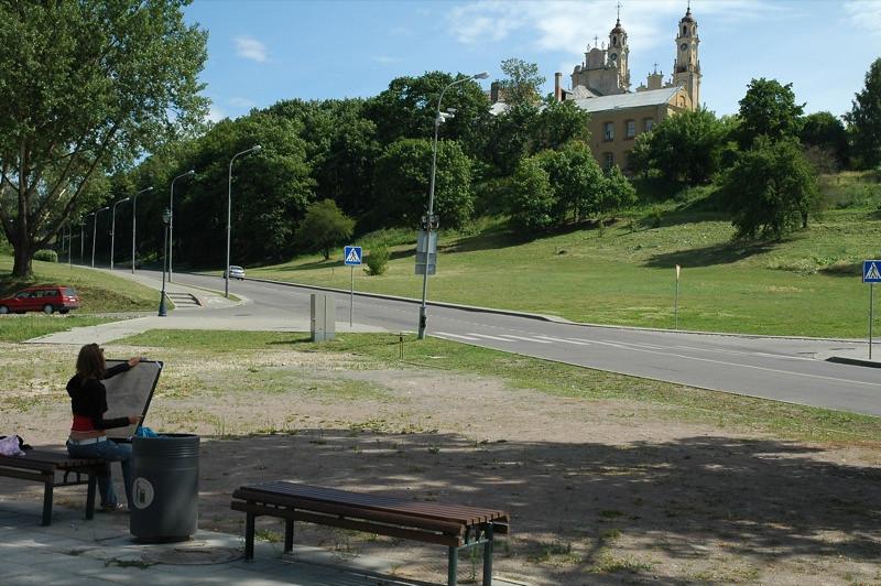 Artist in the Park - Vilnius, Lithuania