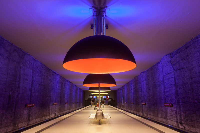Westfriedhof (subway station)