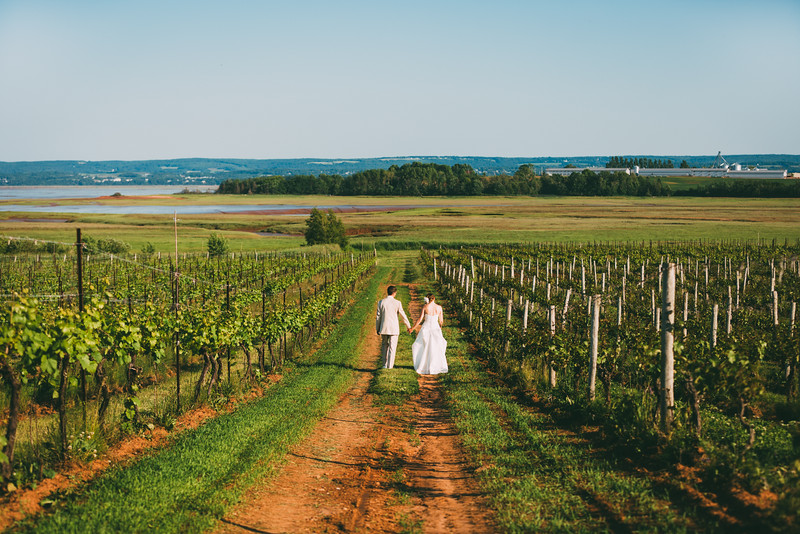 Deana & Chris - Blomidon Winery
