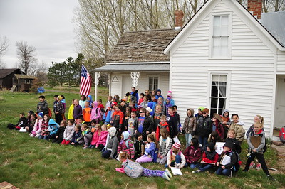 2018 History Day at Wise Homestead EES 3rd Graders