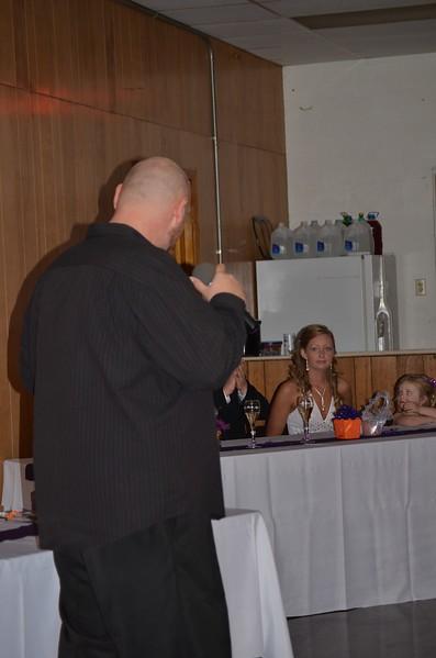 Brandon & Brandi Smith's wedding reception