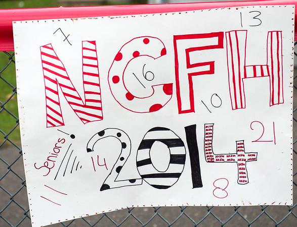 NCFH vs Stamford - Senior Day 10-14-14