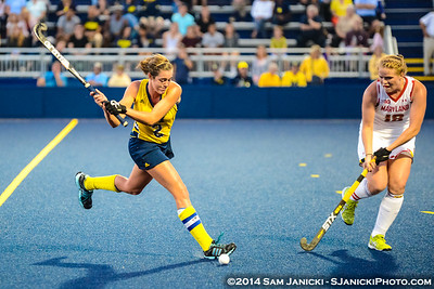 9-26-14 Michigan Field Hockey Vs Maryland
