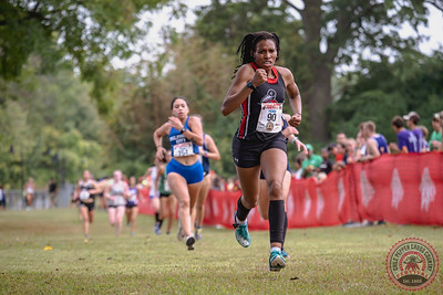 Women's College Finish - Photographed by Mal Sebeck