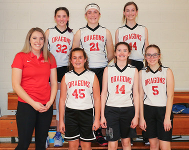 MS 7th Girls Basketball vs Newport 2-12-20