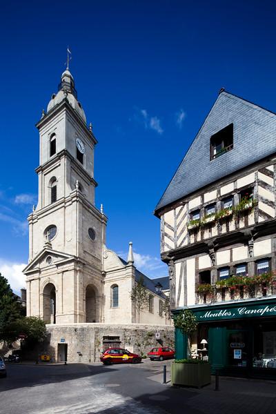 Presbytère de Saint Patern, Vannes, department of Morbihan, region of Brittany, France