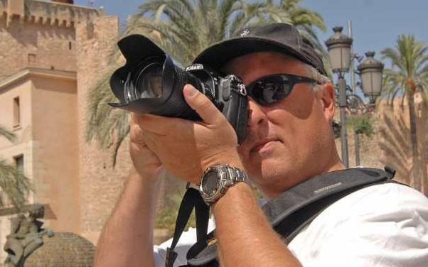 Me taking photos in Morocco