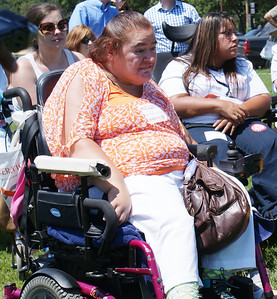 Disability Rights Advocates Rally In Washington DC - 7/25/13