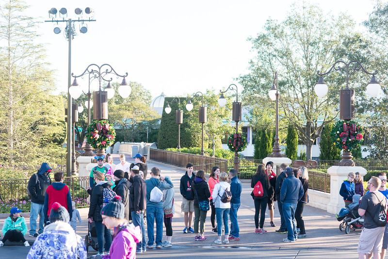 Seven Dwarfs Mine Train Pathway Crowds - Magic Kingdom Walt Disney World