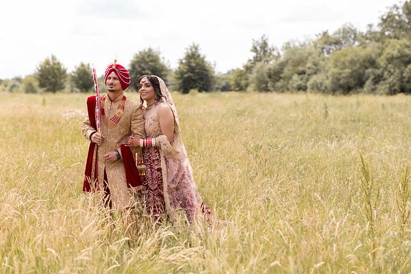 ALISHA & RAMAN'S WEDDING