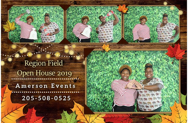 Regions Field Open House 2019