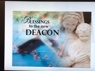 Deacon Rowean Del Castillo Blessing