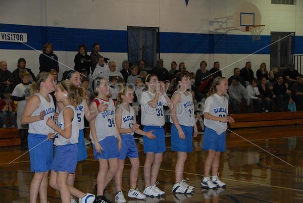 6th grade girls bball v. river ridge . 3.13.09