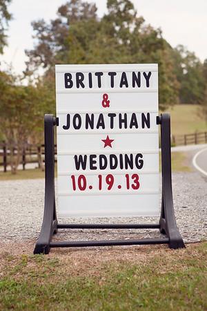 Brittany+Jonathan's Wedding