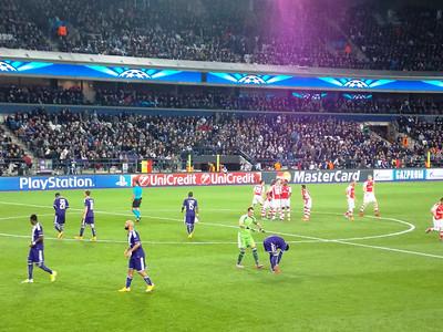 Anderlecht vs. Arsenal 2014