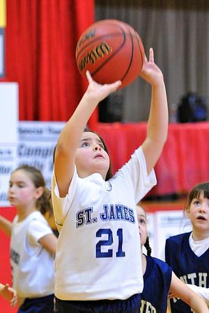 3.3.12 - St. James vs. Divine Mercy Academy - 3rd Grade Girls