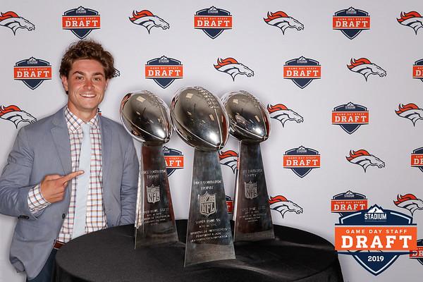 Broncos Game Day Staff Draft | 06.01.19