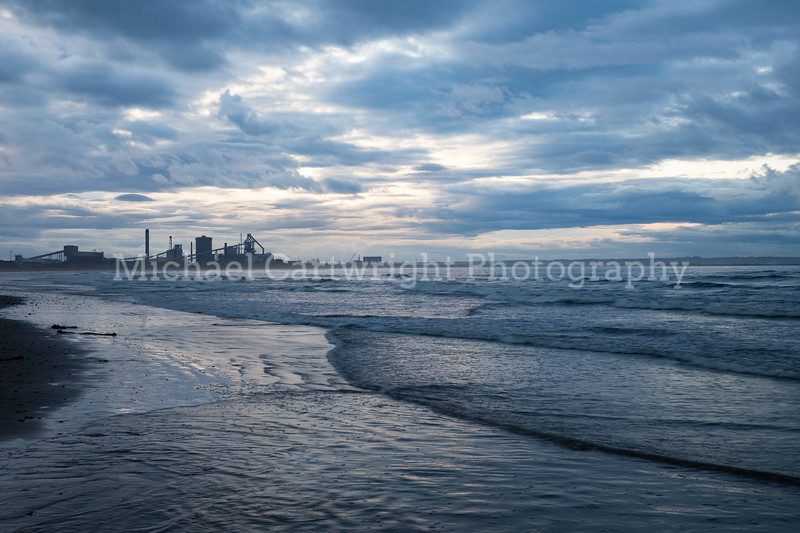 Outgoing Tide - Redcar Beach