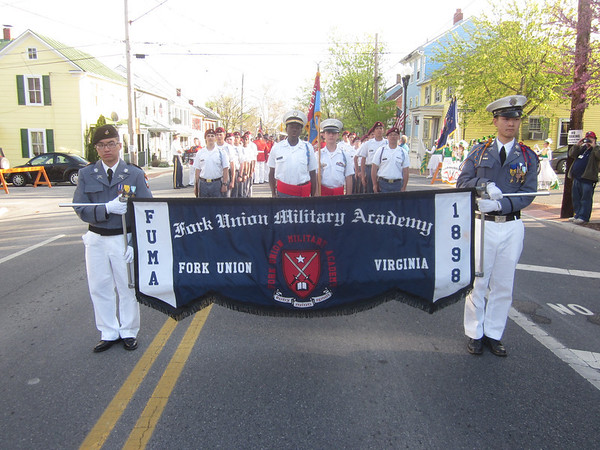 Dillard Guard at Shenandoah Parade