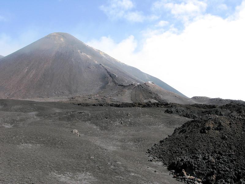Basalt flow Mt Etna