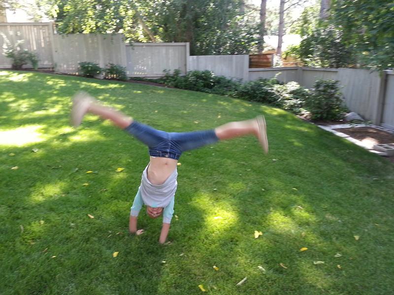 Kennadee F. - Uncle's Backyard -  Salt Lake City, Utah - June 2015