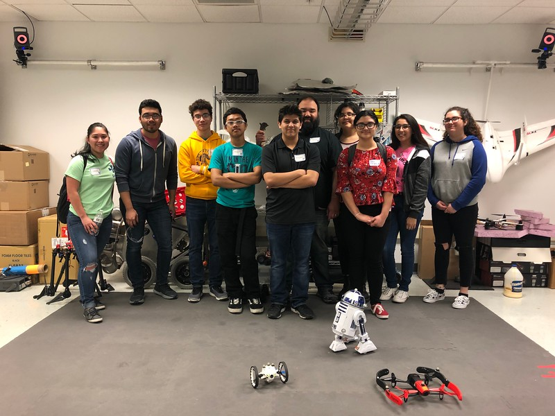 Texas A&M University-Corpus Christi Assistant Professor Dr. Luis Garcia Carrillo leads an Unmanned Aerial Systems Summer Program, teaching South Texas students about UAS technology and giving them hands-on experience with UAS equipment and software. In addition, Dr. Garcia Carrillo and his team regularly host students from area schools.
