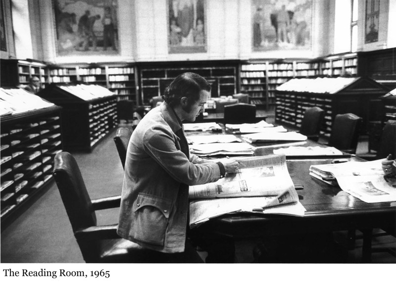 The Reading Room - La salle de lecture, 1965