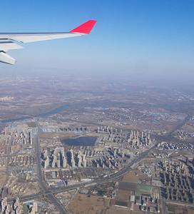 Beijing on final approach