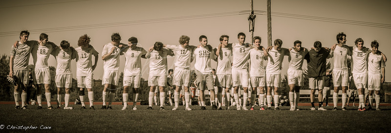 Pittsford Sutherland Soccer Senior Day