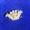 1.52ctw Victorian Diamond Crown Motif Clasp 14