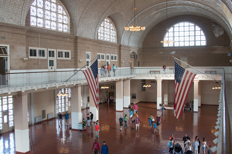 A trip to Ellis Island, June 22, 2017.