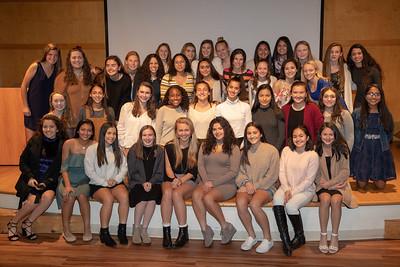 2018-12-07 Brien McMahon Girls Varsity Soccer Banquet