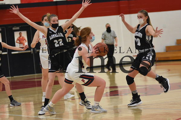 LUHS Girls' Basketball at Pacelli February 1, 2021