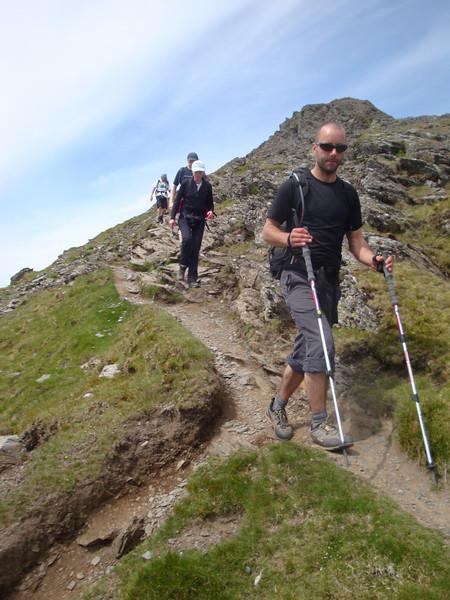 56 Elidir Fawr descent group.JPG