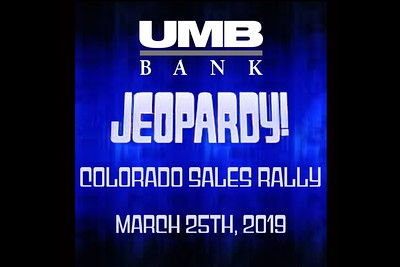 UMB Bank Colorado Sales Rally - March 25, 2019