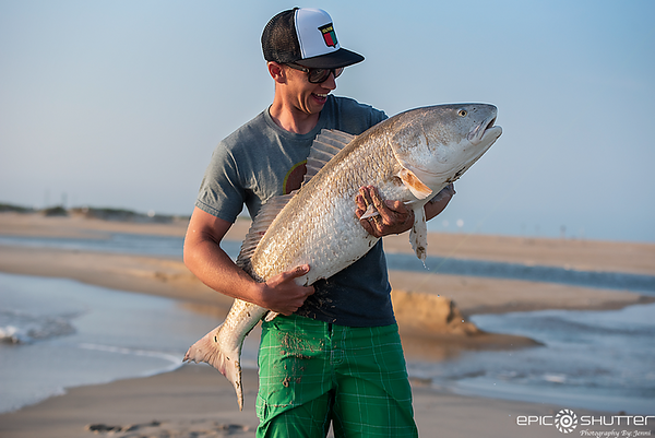 May 14, 2018, Cape Point, Red Drum Fishing, Sunset, Hatteras Island, Cape Hatteras National Seashore, Epic Shutter Photography