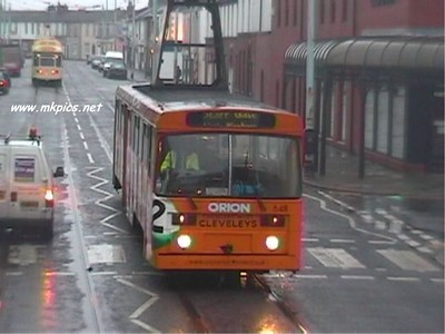 Tram Chasing in Blackpool